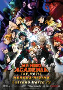 My Hero Academia: Heroes Rising Poster